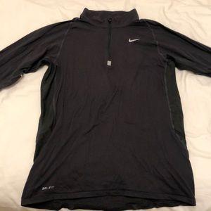 [Nike] long sleeve half zip.